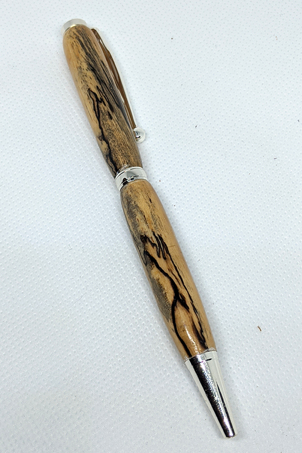 Spalted Tamarind Slim Pen 42