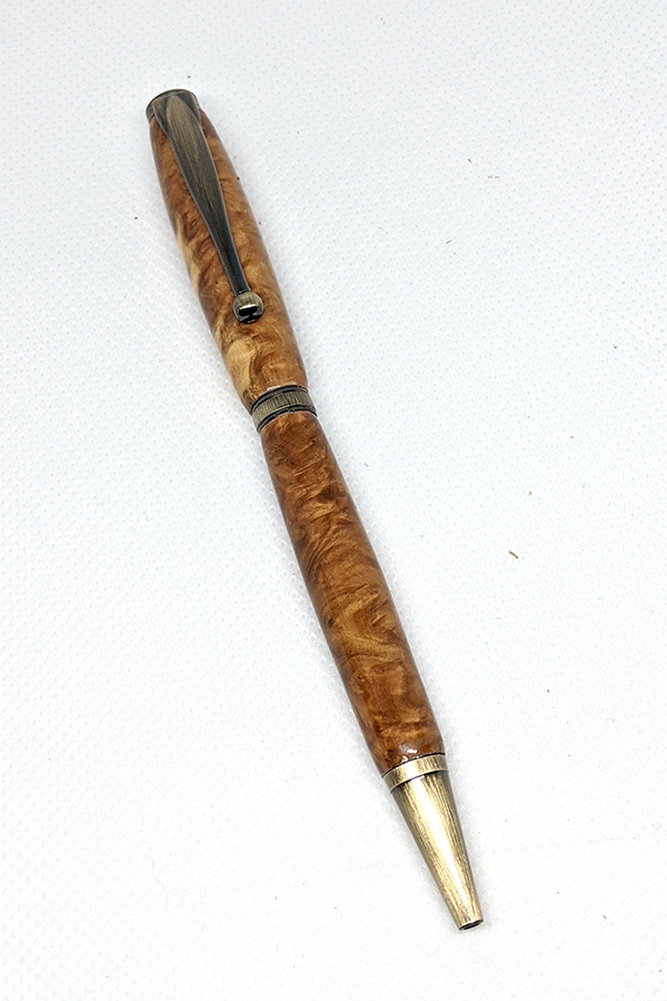Mallee Burl Slim Pen 44